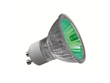 Ampoule halogène GU10 50 W Truecolor verte