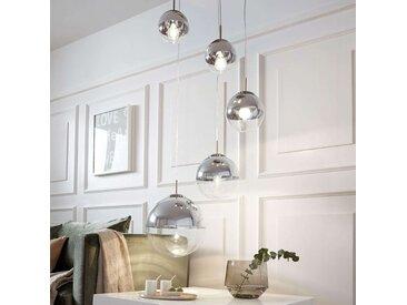 Suspension Ravena à sphères en verre, à 5 lampes– LAMPENWELT.com