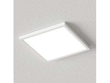 Plafonnier LED Solvie carré, blanc