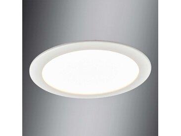 Plafonnier encast. LED Editha, salle de bains, 18W– LAMPENWELT.com
