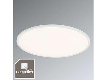 Plafonnier LED blanc Ceres à fonction variateur