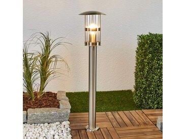 Borne lumineuse en inox Noemi pour l'extérieur– LAMPENWELT.com