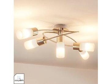 Plafonnier LED dimmable Erva à 5 lampes