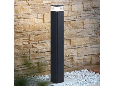Borne lumineuse LED Lidia en aluminium– LAMPENWELT.com