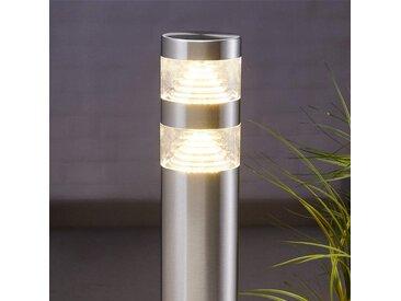 Borne lumineuse LED Lanea en inox 60 cm– LAMPENWELT.com