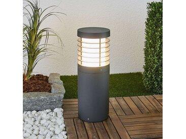 Potelet LED Hira, look lamelles– LAMPENWELT.com