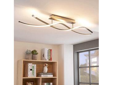 Plafonnier LED Kati en forme de spirale, dimmable