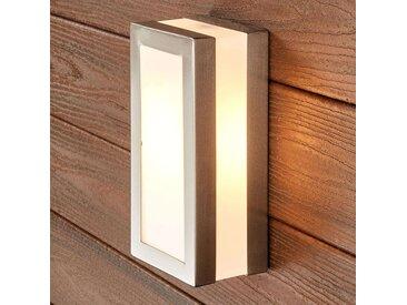 Applique extérieure rectangulaire inox Odis– LAMPENWELT.com