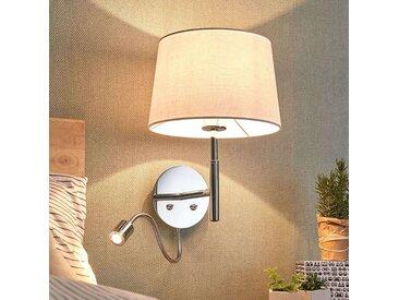 Applique textile Maive à bras liseuse– LAMPENWELT.com