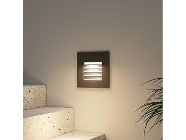 Arcchio Makio lampe encastrable LED, noire