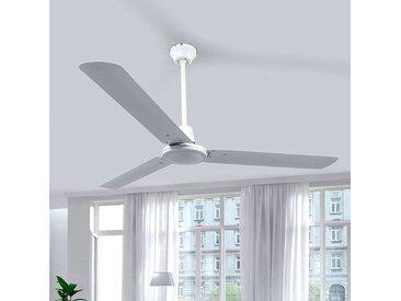 Ventilateur de plafond blanc à 3 pales Dawinja– LAMPENWELT.com