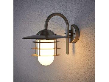 Applique d'extérieur Mian en inox– LAMPENWELT.com