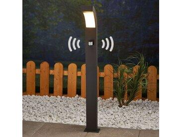 Borne lumineuse LED Lennik à détecteur de mvt– LAMPENWELT.com