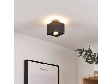 Arcchio Walisa plafonnier LED, angulaire, noir