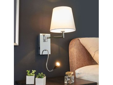 Applique murale Rasmus avec lampe de lecture LED– LAMPENWELT.com