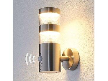 Applique d'extérieur LED Lanea droite, capteur– LAMPENWELT.com