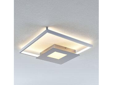 Plafonnier LED Anays, angulaire, 42 cm