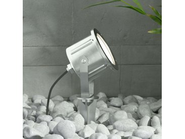 Projecteur ext. LED Mathis, piquet, IP65, inox– LAMPENWELT.com