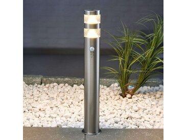 Borne lumineuse LED Lanea à détecteur de mvt 60 cm