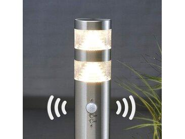 Borne lumineuse LED Lanea à détecteur de mvt 60 cm– LAMPENWELT.com
