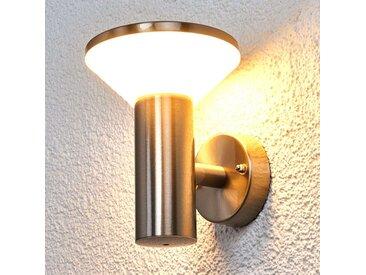 Applique extérieure en inox Tiga LED– LAMPENWELT.com