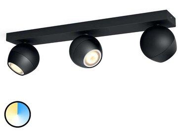 Philips Hue Buckram 3 lampes variateur noir