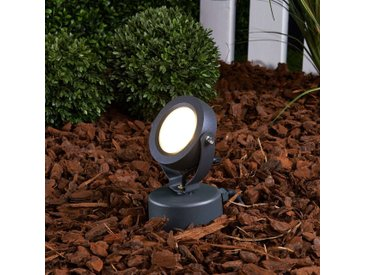 Projecteur d'extérieur LED Gavin graphite 1x7 W– LAMPENWELT.com