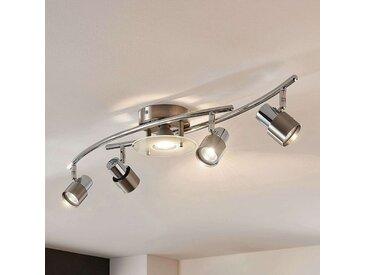 Plafonnier LED Cleon dimmable par interr. 5lampes– LAMPENWELT.com