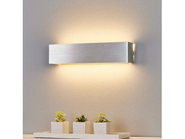 Applique LED Ranik couleur aluminium– LAMPENWELT.com