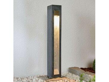 Potelet LED Adejan avec basalte, 70cm– LAMPENWELT.com