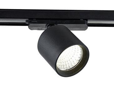 Arcchio Candra spot sur rail LED noir 26W 4000K