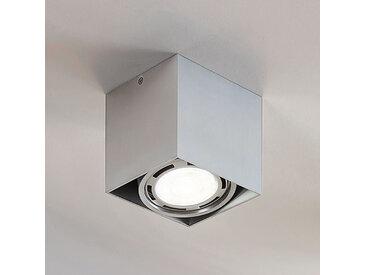 Downlight LED Rosalie à 1 lampe, angulaire, alu– LAMPENWELT.com