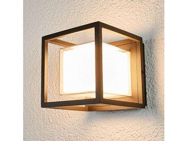 Applique d'extérieur LED en forme de dé Laurens