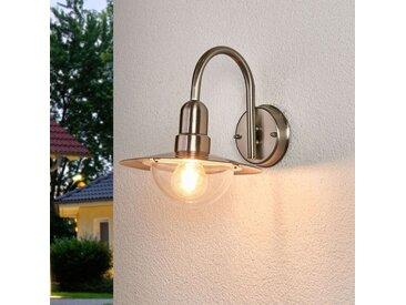 LED Applique d'extérieur classique Fedra en inox