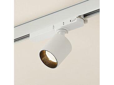 Arcchio Candra spot sur rail LED, blanc 9W 3000K
