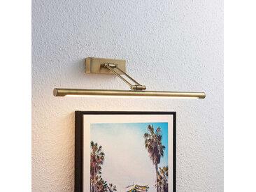 Lucande Dimitrij applique pour tableau LED, laiton