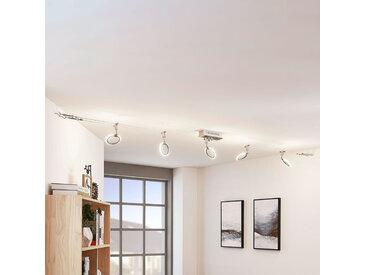 Système de lampes LED sur câble Ratka, à 5 lampes