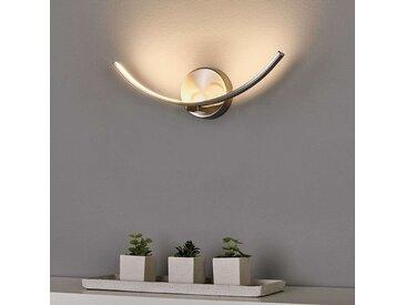 Applique à LED recourbée Iven– LAMPENWELT.com