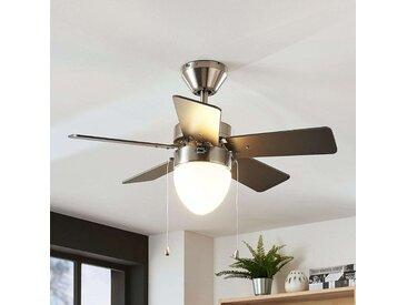 Ventilateur de plafond Ante, éclairé, 5pales– LAMPENWELT.com