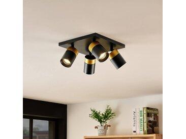 Arcchio Nikora spot de plafond, à 4 lampes