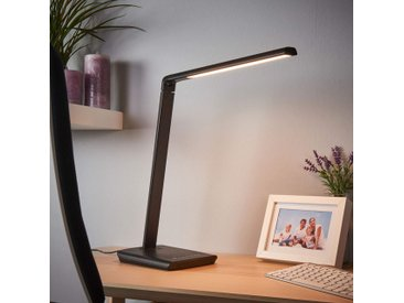 Lampe de bureau LED Kuno avec port USB– LAMPENWELT.com