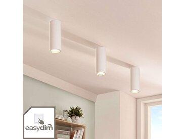 Downlight en plâtre Annelies à ampoule LED Easydim– LAMPENWELT.com