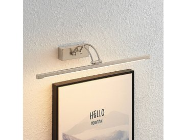 Lucande Felena applique pour tableau LED, nickel