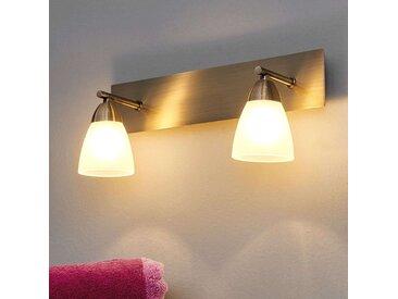 Applique pour salle de bains Nikla à deux lampes– LAMPENWELT.com