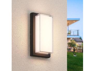 Lindby Aluki applique extérieur LED, rectangulaire