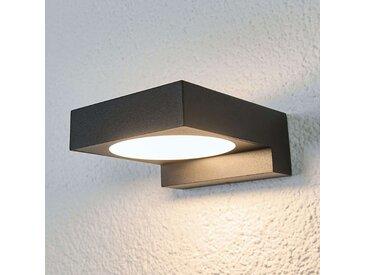 Applique de salle de bains LED noire Natalja– LAMPENWELT.com