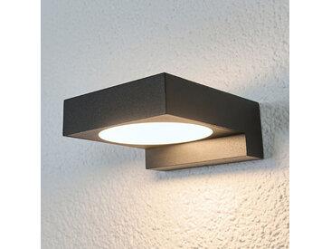 Applique de salle de bains LED noire Natalja