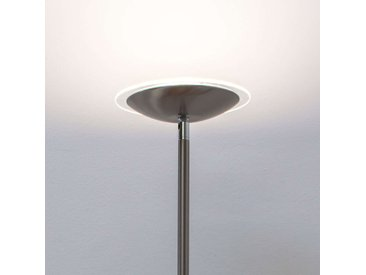 Malea - lampadaire indirect LED, nickel mat