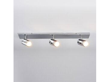 Plafonnier pour salle de bains Dejan à 3 lampes