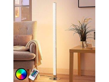 Lampadaire LED RVB Hadis allongé, dimmable